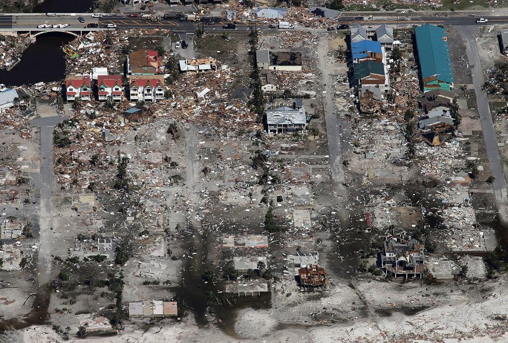 Skutki huraganu Michael
