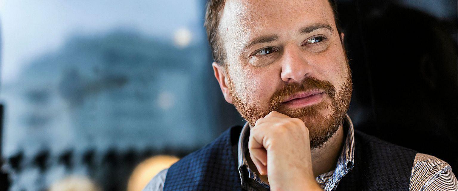 Wojciech Chmielarz (fot. Mateusz Skwarczek / Agencja Gazeta)