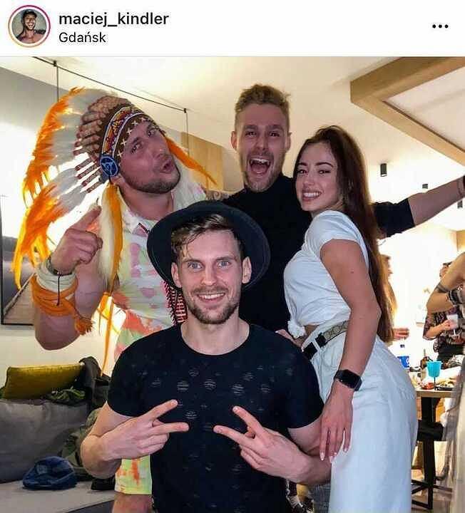 'Hotel Paradise' Maciek, Kara, Marcin, Robert
