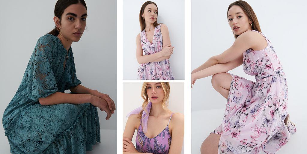 Sukienki maxi w kwiaty