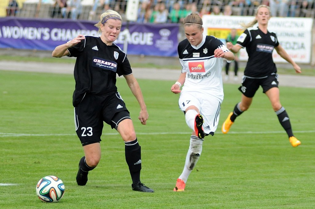 Medyk Konin - Glasgow City FC 2:0. Ewa Pajor