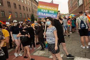 """Demonstracje solidarności z Margot i LGBT. """"Jeszcze tęczowa Polska nie zginęła!"""""""