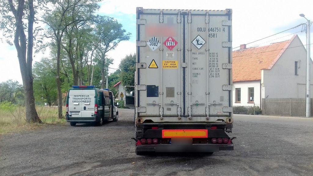 Kontrola ciężarówki