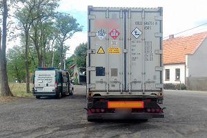 Dwa postępowania - jedno na kwotę 17 100 zł, a drugie na 2 500 zł. Tak skończyła się kontrola ciężarówki w Ługowanach