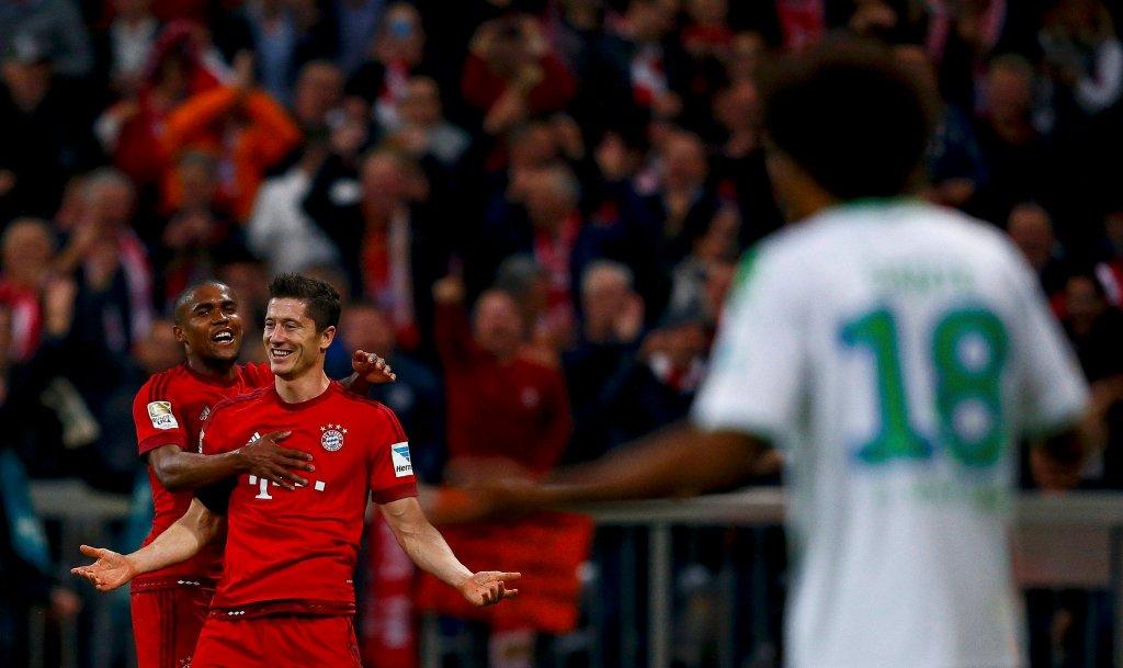 Robert Lewandowski strzelił pięć goli w dziewięć minut