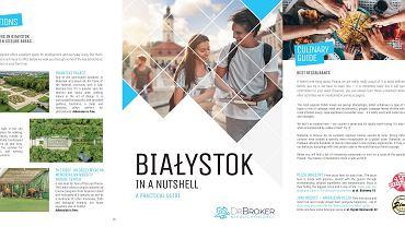 'Białystok in a Nutshell' to praktyczny przewodnik po Białymstoku, skierowany do studentów z zagranicy