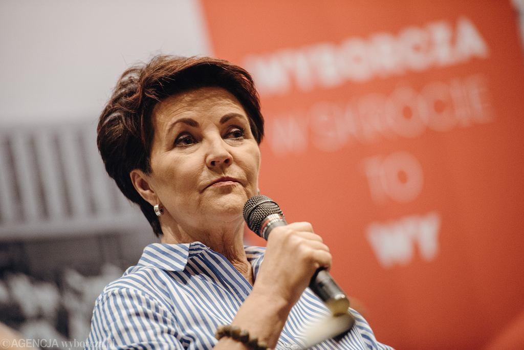 Jolanta Kwaśniewska o Agacie Kornhauser-Dudzie: To milcząca pierwsza dama (zdjęcie ilustracyjne)