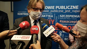 Konferencja w PiS o szczepionkach