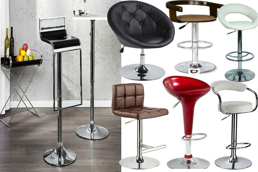 Krzesła barowe, hokery