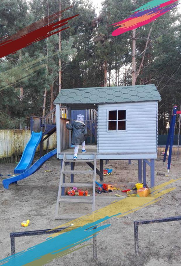 Plac zabaw na dworze