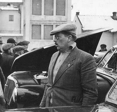 Inż. Witold Rychter jeden z najbardziej zasłużonych przedwojennych pionierów motoryzacji