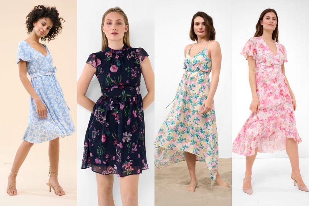 Sukienki Orsay w kwiaty