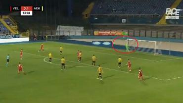 Velez Mostar - AEK Ateny 2:1. Gol Omara Prsesa