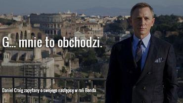 """Daniel Craig w Rzymie podczas konferencji prasowej """"Spectre"""""""