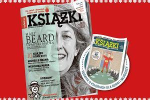 """Zimowe wydanie """"Książek. Magazynu do czytania"""" z Mary Beard na okładce już w sprzedaży"""