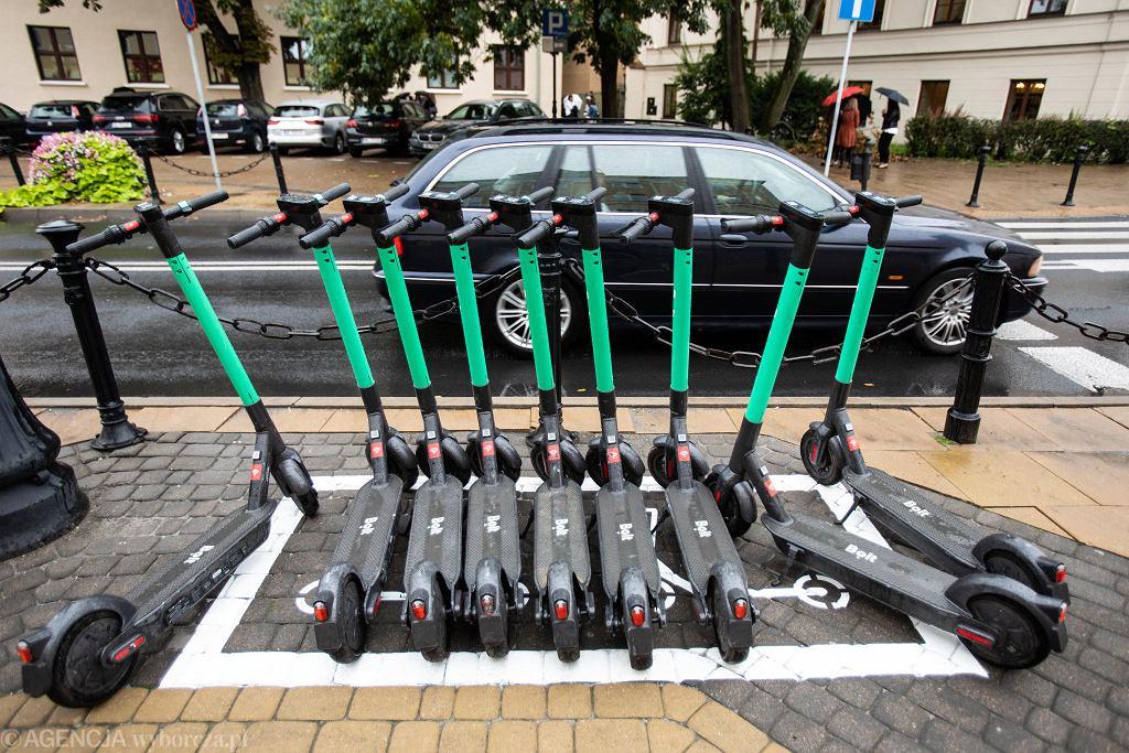 Elektryczne hulajnogi w Lublinie