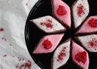 Francuskie ciasteczka migdałowe z malinami Calissons d'Aix - Zdjęcia
