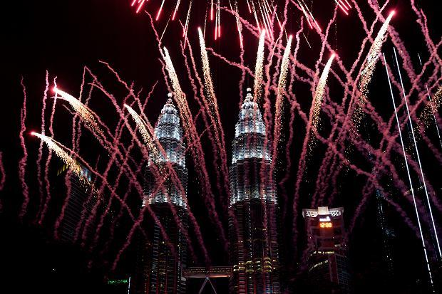 Nowy Rok w Kuala Lumpur