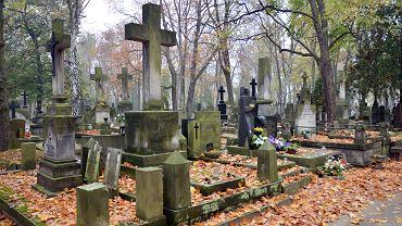 Dziady często obchodzono na cmentarzach. Zdjęcie ilustracyjne