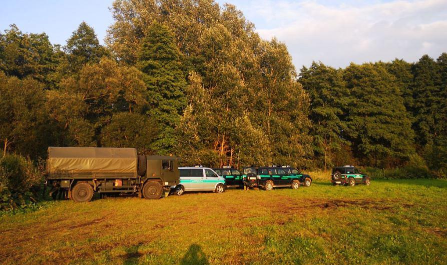Obozowisko w okolicach wsi Usnarz Górny