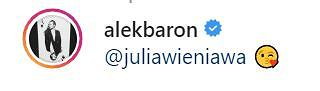 Komentarz na profilu Alka Barona