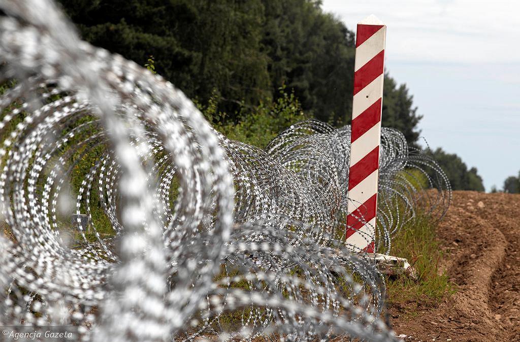 Ogrodzenie na granicy