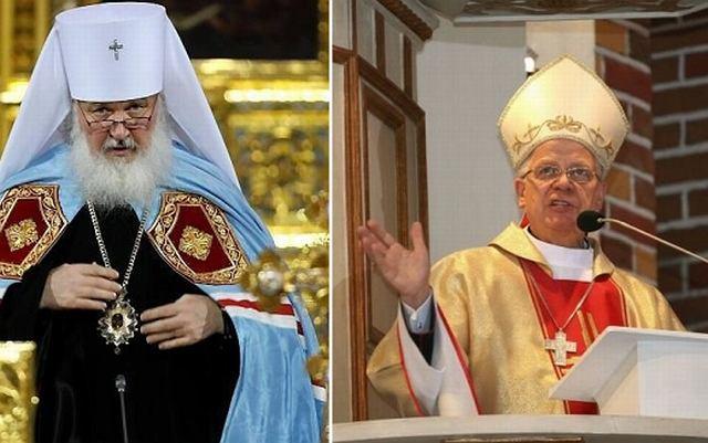 Cyryl I i abp. Józef Michalik