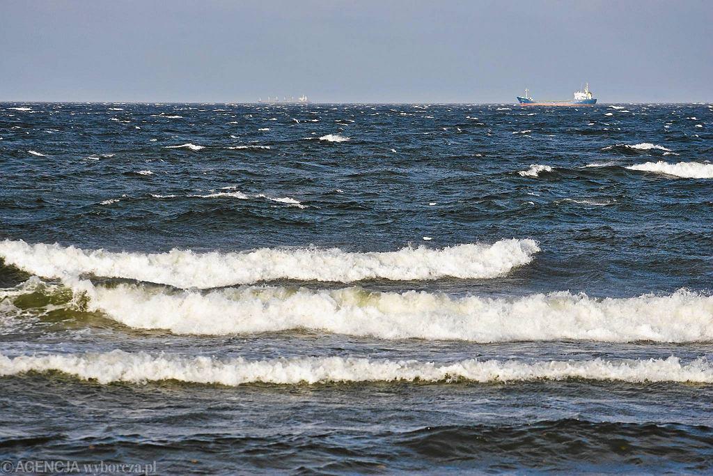 Wichura na Pomorzu. Zatoka Gdańska.