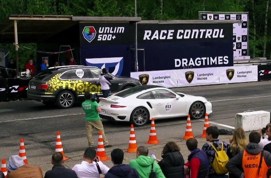Bentayga kontra 911 Turbo