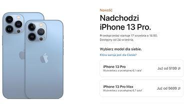 Ceny iPhone 13 Pro