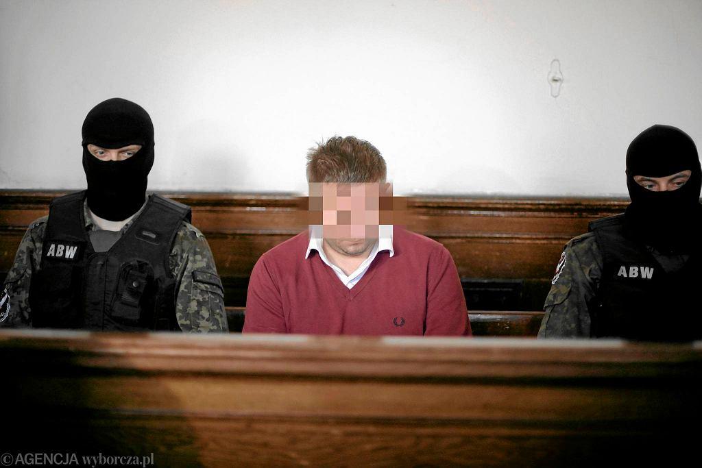 Marcin P. przed sądem, rok 2012
