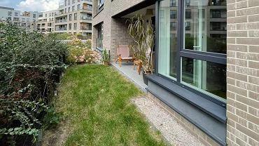 Ogródek przy mieszkaniu