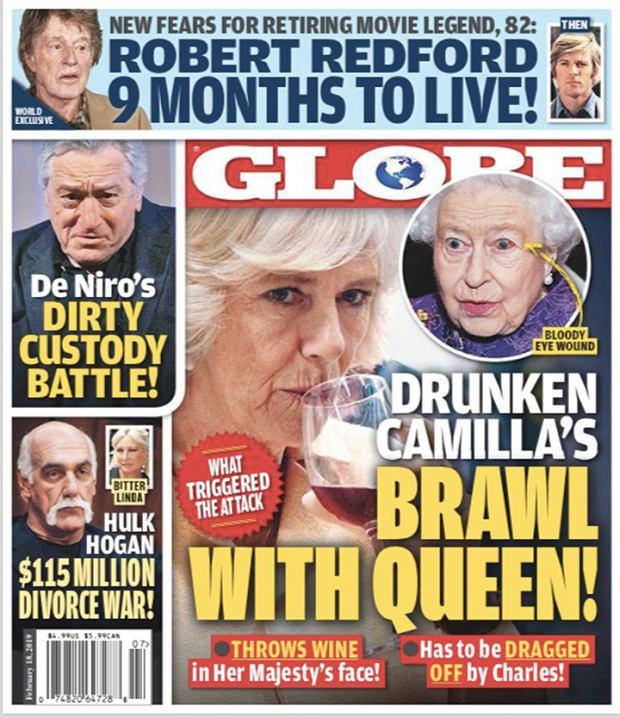 Camilla rzuciła w królową kieliszkiem