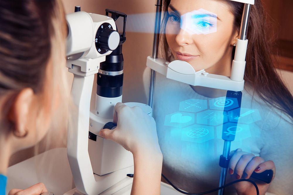 Komputerowe badanie wzroku