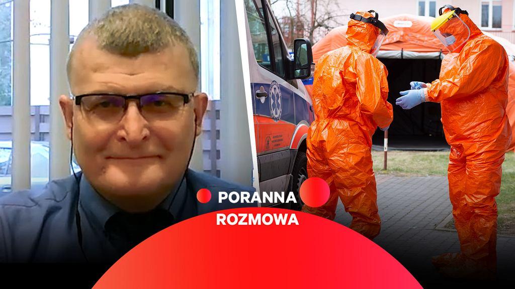 Dr Paweł Grzesiowski w Porannej Rozmowie Gazeta.pl
