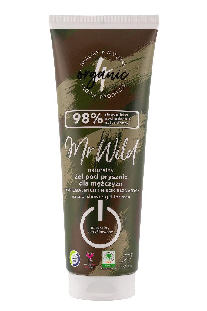 Naturalny żel pod prysznic 4organic Mr Wild