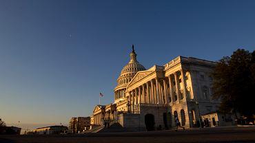 Kapitol - siedziba Kongresu USA. Waszyngton, 27 lutego 2019