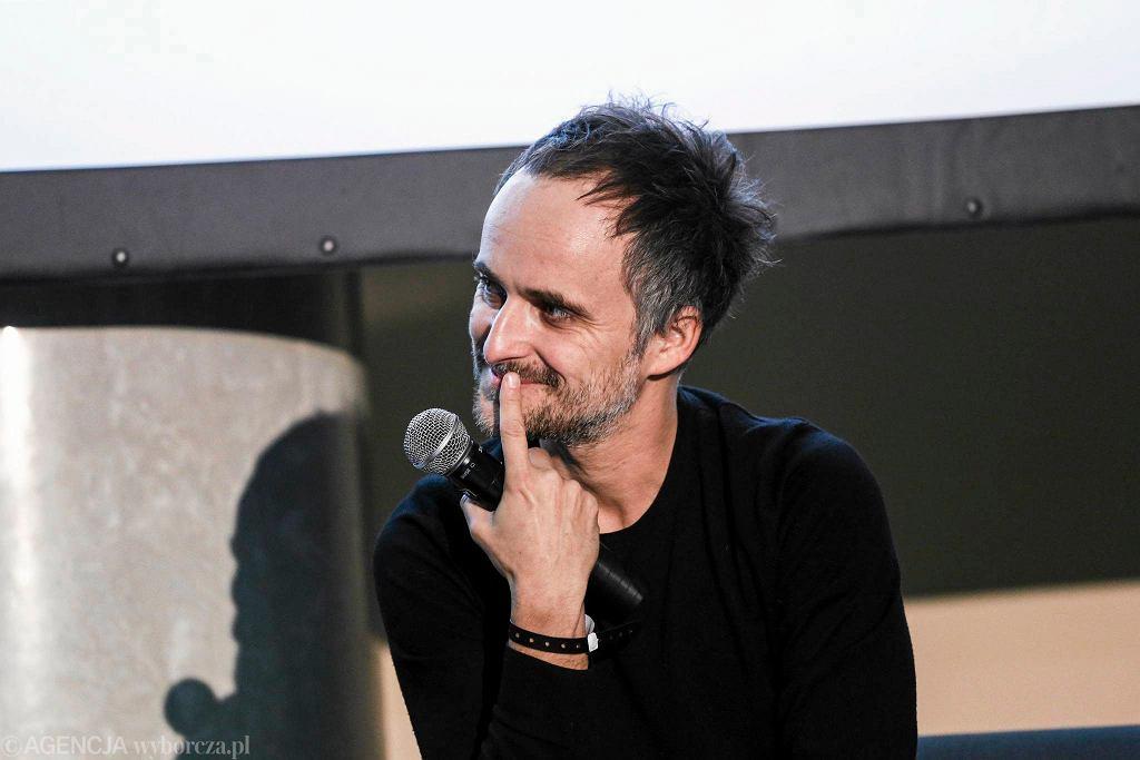 Spotkanie z Arturem Rojkiem podczas Europejskich Targów Muzycznych Co Jest Grane. Spotkanie poprowadziła Aleksandra Klich, listopad 2015 / ADAM STĘPIEŃ