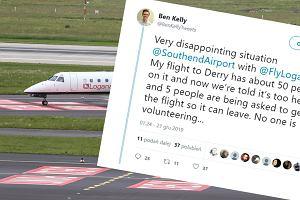 Samolot nie mógł odlecieć, bo był za ciężki. Kilku pasażerów musiało opuścić pokład