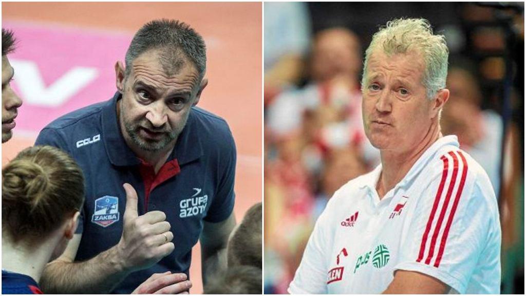 Nikola Grbić i Vital Heynen