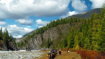 Podróż przez mongolski step