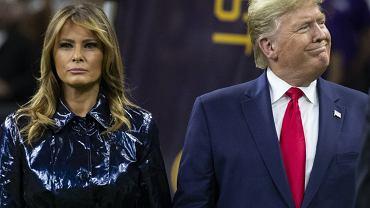 Melania Trump publicznie odrzuciła czułości Donalda. To nagranie nie uciszy plotek o kryzysie u pierwszej pary USA