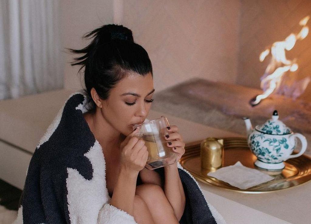 Kourtney Kardashian zawsze ma te produkty w swojej kuchni
