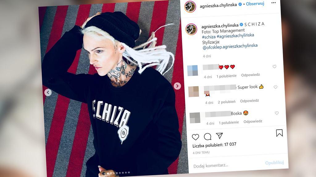 Agnieszka Chylińska ma nowy tatuaż