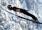 Parodia skoków w Niżnym Tagile. Skoczek dostał dodatkowe punkty za wiatr pod narty!