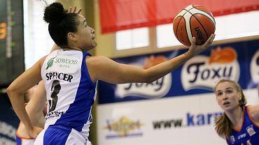 Basket Liga Kobiet sezon 2017/18: InvestInTheWest AZS AJP Gorzów - Enea AZS Poznań 106:55 (36:14, 24:9, 25:11, 21:21)