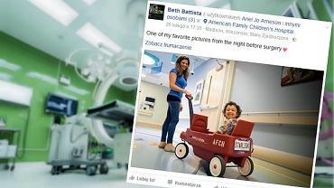 Beth Battista nie zastanawiała się długo nad decyzją o oddaniu własnej nerki swojej uczennicy