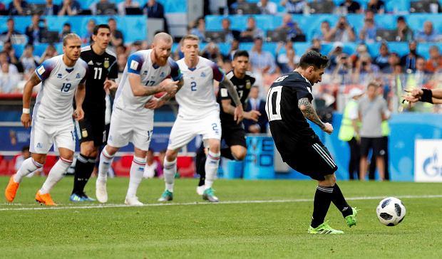 305463eb4 Mistrzostwa świata w piłce nożnej. Argentyna - Islandia. Niespodzianka w  pierwszym meczu gr. D. Messi zmarnował karnego!
