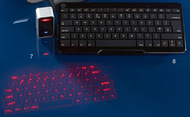 tablet, smartfon, akcesoria komputerowe, Niewielkie klawiatury przenośne, 8. Motorola KZ500Cena: 70 dol. 9. Magic CubeCena: 500 zł