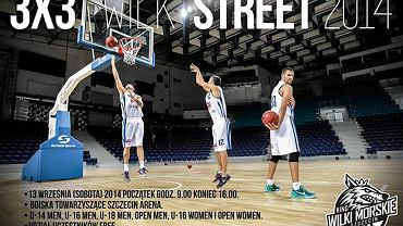 Plakat streetball'owego turnieju